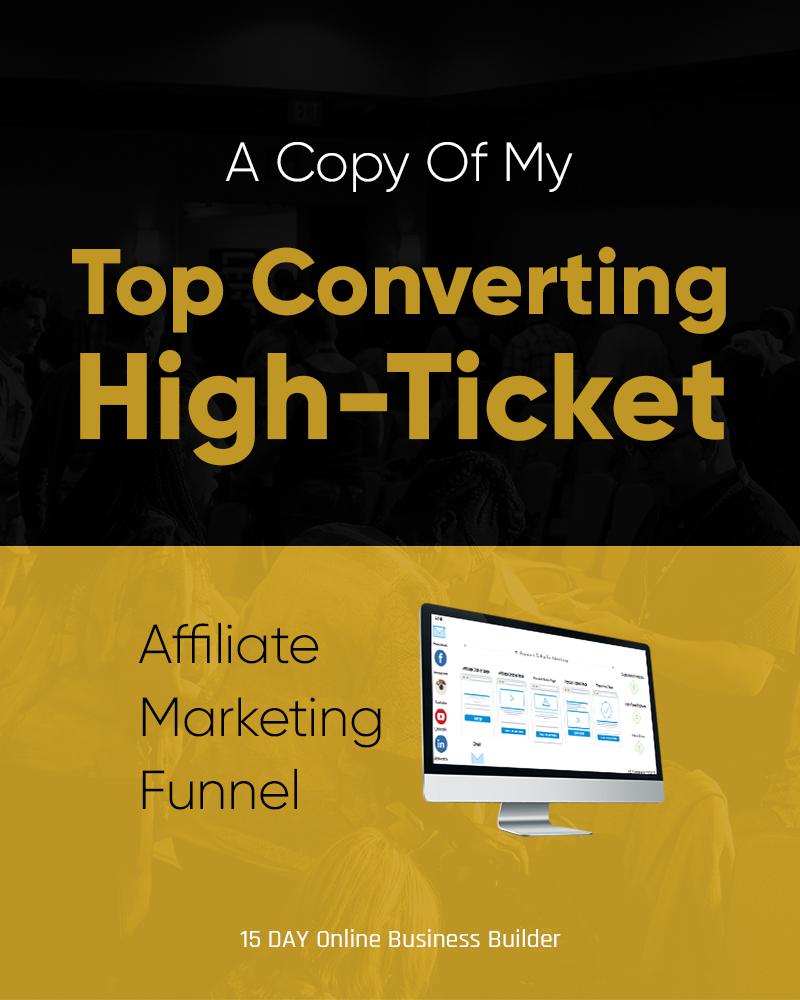 high ticket affiliate marketing